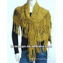 Latest fashion big size Kniting Crochet shawl