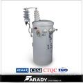 13.8kv 167kVA Tipo de aceite montado en poste Completamente autoprotección Transformador