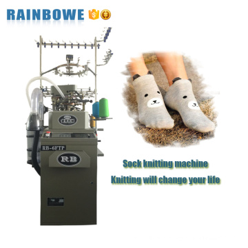 Industrial equipment computerized automatic socks knitting machine price with making sock
