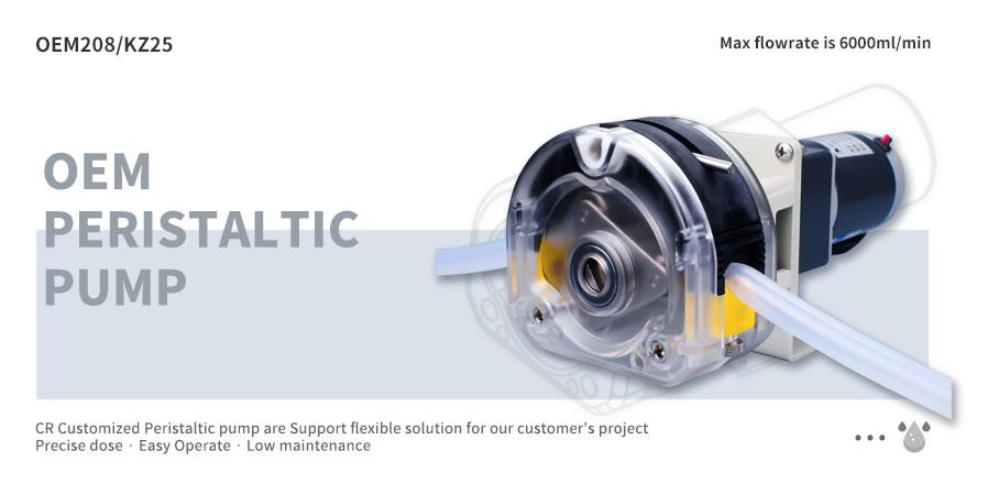 24V peristaltic pump