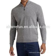 factory customize many styles 100% pure cashmere knitwear for men