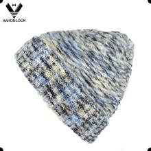 2016 unisex de moda de invierno hecho punto sombrero