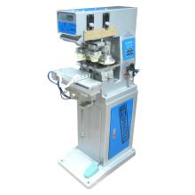 Máquinas de impresión plásticas del cojín de la taza bicolor de la tinta de la venta caliente TM-S2 con el transbordador