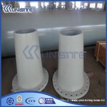 Tubo de desgaste de parede grosso personalizado para dragagem (USC7-007)