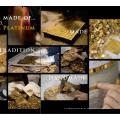 Telha de mosaico de vidro de mosaico de vidro Goldcloud Bisazza