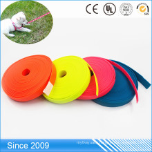 Durable Soft Polyester Material Leash PVC Coated Flat Polyester Webbing for Horse Lead Rope