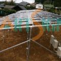 Solar de montaje estructuras de sistemas solares
