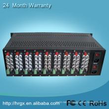 Видео мультиплексор 16slots высотой 4U для монтажа в стойку сервер чехол шасси