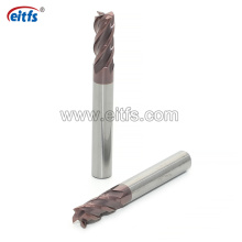Cheap Economy HRC60 Solid Carbide Square End Mill for Steels