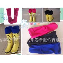 New Design Mulheres Boot Socks / Alta Qualidade Fleece Sock Liners / New Design Fleece Sock Liners