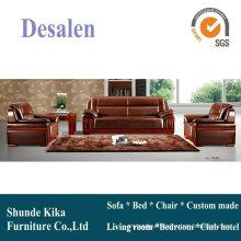 Brown Sofa, Leather Sofa, Office Sofa, China Sofa (8301)