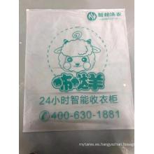 Bolsa de plástico impermeable con cremallera