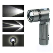 Linterna LED con alta luminancia y calidad