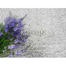 """POLY MESH WITH 3MM SEQUIN EMBROIDERY 50 52"""""""