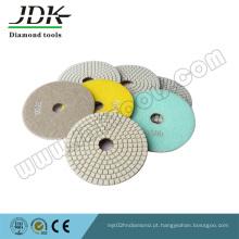 Almofadas de polimento de diamante com tipo de parafuso