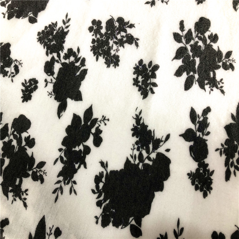 Floral Print Nice Quality Brush Fabric