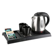 Hotel amenities 2200W hotel electric kettle tray set