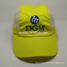 Hochwertige Wärmeübertragung Stickerei Mesh Cap