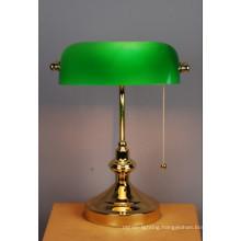 Zhongshan Guzhen Golden Antique Banker Table Lamp