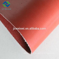Tissu de tissu de fibre de verre enduit de caoutchouc de silicone