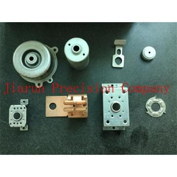 Produto de metal terminal, peças de estampagem, suporte de metal