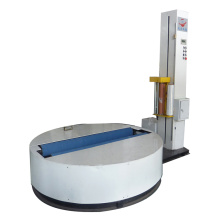 Tissue paper roll film wrapping machine