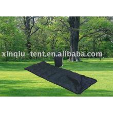 Single perso black color sleeping bag