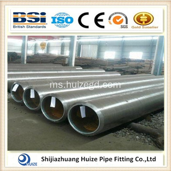 Alloy Rolled Alloy Steel Tube Lancar
