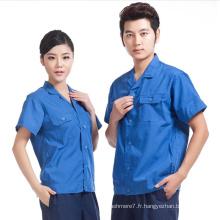 Vêtements de travail personnalisés Chemises Uniformes Vêtements Vêtements d'été Sécurité Vêtements de travail