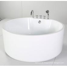 Runde Freistehende Badewanne mit Acryl