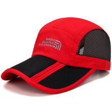 Mesh foldable men's men baseball cap outdoor unique baseball hats