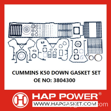 CUMMINS K50 GASKET SET 3804300