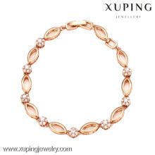 72869-Xuping ювелирные изделия позолоченные женщины браслет с хорошим качеством