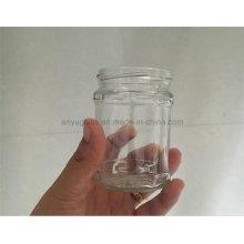 200ml Mini pot de verre à tête libre pour confiture, salade, nourriture, miel