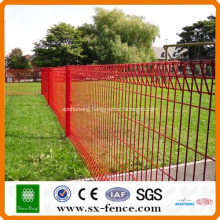 Roll Top Mesh Fence Panel