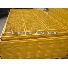 Barrière en aluminium de contrôle de foule de vente la plus chaude / barrière de contrôle de foule de concert / barrières en métal de contrôle de foule