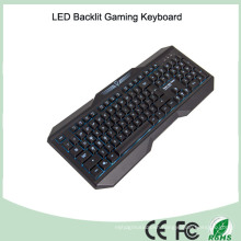 Made in China Cheapest 104 Keys Standard Wired Ergonomic Keyboards (KB-1801EL)