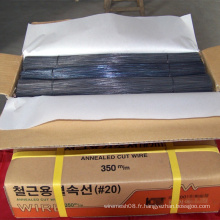 Fil de coupe noir pour le fil de liaison de construction