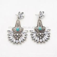 De Alta Calidad Moda Elegante Turquesa Pendientes Creativos Para Las Mujeres SSEH015