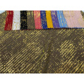 Foil Gold Polyester Tulle Voile Fabric