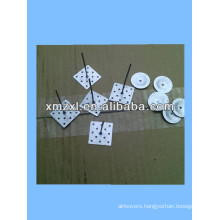 Self adhesive pin for internal insulation