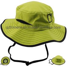 Outdoor Polyester Microfiber Breathable Fabrir Sport Bucket Hat (TMBH0783)