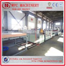 Fábrica profissional de Qingdao Placa composta de plástico de madeira que faz a máquina / placa de móveis de WPC que faz a máquina