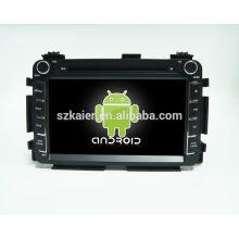 Système de navigation de voiture de quadruple dvd de voiture pour HONDA VEZEL / HR-V avec GPS / Bluetooth / TV / 3G