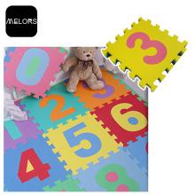 Tapis de jouets éducatifs pour bébé non toxique Melors EVA