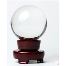 A popularidade da bola de cristal transparente de alta qualidade