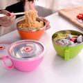 ChaoZhou Edelstahl-Instant-Nudeln-Tasse mit Griff