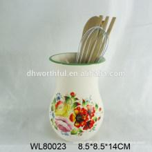 2015 Soporte para utensilios de cerámica de diseño creativo
