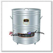 K662 Interlayer Insulation Calentador directo de sopa de cocina eléctrica Hervidor de agua