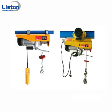 High Speed ​​Mini Electric Cable Hoist 100kg